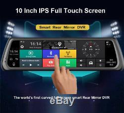 10 HD IPS Special 4G Car DVR Dual Camera GPS Bluetooth WIFI ADAS Video Recorder