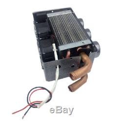 12V 3 Hole 80W Car Heating Cooling Heater Iron Compact Heater Defroster Demister