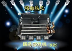 12V Portable Autos Underdash Compact Heater Heat Defroster Demister+Speed Switch