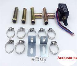 12V Universal Car Underdash Compact Heater Heat Defroster Demister +Speed Switch
