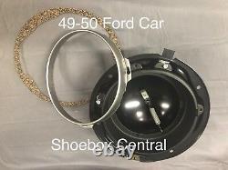 1949 1950 Ford Shoebox Headlight Bucket Kit NEW
