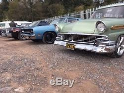 1955 ford country squire station wagon v8 hotrod auto woodie woody barnfind vw