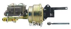 1957-72 F100 Ford Truck Firewall Booster Kit & Proportioning Valve (Disc / Drum)