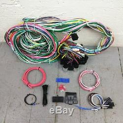 1958 1964 Impala Wire Harness Upgrade Kit fits painless update compact circuit