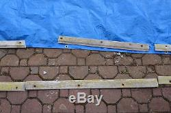 1966 ford country squire wood side molding complete set PASSENGER right trim