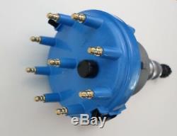 1985-1991 Ford 5.0l 302 Efi Distributor + Blue Spark Plug Wires + 48k Coil