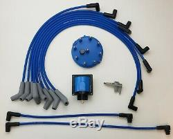 1986-1995 FORD F150 BRONCO 5.0L 302 TUNE UP 48K Volt POWERBOOST UPGRADE KIT BLUE