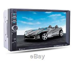 2 Din In-Dash 7 Touch Screen GPS Navigation Car Stereo FM Radio MP3/MP5 Player