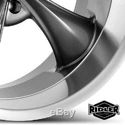 20 Ridler 695 Wheel Rim Gray 20x8.5 5x127 5x5 695-2873G