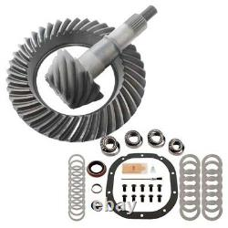 3.73 Ring And Pinion & Master Bearing Install Kit Fits Ford 8.8
