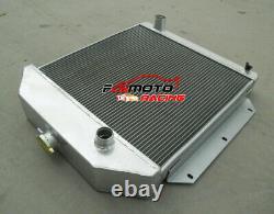 3 Row Aluminum Radiator for Ford v8 Cars 1949 1950 1951 1952 1953 Manual MT