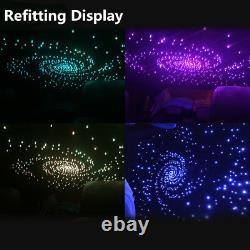 300Pcs DIY Car Led Ceiling Light Fiber Optic Star Car Romantic Decoration Light