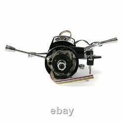 33 Black 3-Position Tilt Steering Column Shift Automatic 3-Speed + Key Ignition