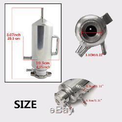 350ml Car SUV Overflow Catch Tank Radiator Coolant Tank Bottle Header Reservoir