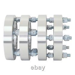 4pc 1.25 5x4.5 to 5x5.5 Wheel Adapters JEEP CJ wheels on Wrangler
