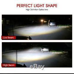 4pc 5.75 5 3/4 Round LED Headlight Hi Lo Halo Signal For Buick GMC Chevy Pickup