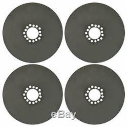 4x Big Rim Dust Shields for 20 Inch Wheels Brake Dust Covers Plates Behind Rim
