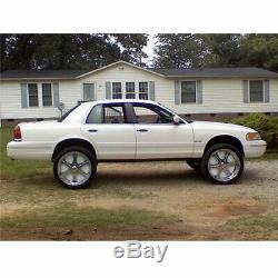 4x Big Rim Dust Shields for 24 Inch Wheels Brake Dust Covers Plates Behind Rim