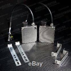 4x6 H4651/H4666 Glass Housing Head Light Chrome Pair H4 5000k HID Xenon (N)