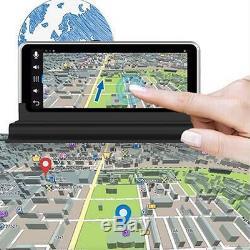 7 HD 1080P Wifi Dual Lens Android GPS Navigation Car DVR Rearview Dash Camera