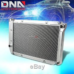 71-73 Ford Mustang/country Sedan/squire V8 3-row Full Aluminum Racing Radiator