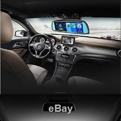 8'' 4G Touch Screen FHD Car Truck DVR Bluetooth WIFI GPS Video Recorder Dash Cam
