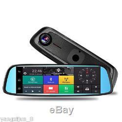 81080P Car DVR Camera Video 4G Recorder Dash Cam Dual Lens Wifi Rearview Mirror