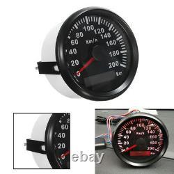 85mm 200 KM/H GPS Speedometer Waterproof Digital Gauges Ven RV Car Truck Pickup