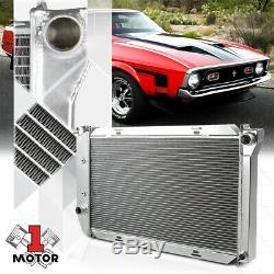 Aluminum 3 Row Performance Radiator for 69-73 LTD/Mustang/Cougar/Ranch Wagon V8