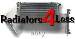 Aluminum Radiator Fan Shroud 67 68 69 70 Ford Mustang 20 Core Uses 16 Fan