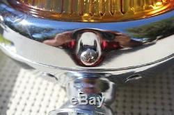 Amber 5 12 Volt Custom Mounted Fog Lights Lamps Vintage Style Car Truck Hot Rod