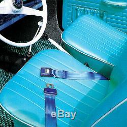 Black Retractable Front Shoulder Seat Belt Jeep CJ YJ Wrangler 82-95 3Pt 2PC