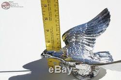 Chrome Flying Eagle Hood Ornament Custom Truck Hot Rat Street Rod Chevy Pickup