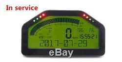 Dash Race Display Full Sensor Kit, Dashboard LCD Screen, Multi-Functions Gauge