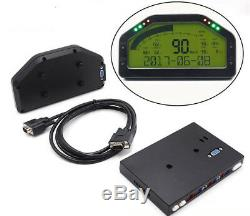 Dash Race Display Gauge, Dashboard Screen Display Sensor Meter Kit For Car Boats
