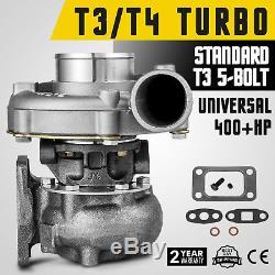EA T3/T4 T3T4 T04E Turbocharger HYBRID. 63 A/R Turbine 5 BOLT FLANGE