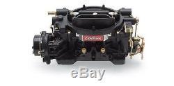 Edelbrock 14063 Black Performer 600 CFM 4-Bbl Carburetor Electric Choke