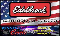 Edelbrock 7521 RPM Air-Gap Small Block Ford 302 Intake withFREE Intake Gaskets