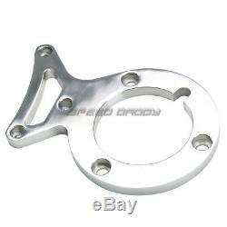 For 302w 302 V8 5.0 L Liter Polished Aluminum Alternator+power Steering Bracket