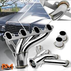 For Ford BBC Big Block 429/460 V8 Stinless Steel Hugger Exhaust Header Manifold