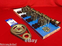 Ford 289 302 Ultimate Cam Kit Dual Pattern 274/284 Perf lifters springs timing