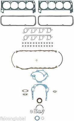 Ford 390 car MASTER Engine Kit Pistons moly rings double timing tork cam 1966-70