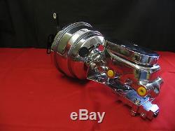 Ford Galaxie & Fullsize Cars Chrome Power Brake Booster Assembly