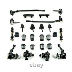 Front End Suspension Rebuild Kit Inner Tie Rods Fits 1954 1956 Ford Full Size