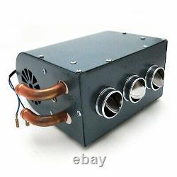 Gobi Compact Heater Deluxe Under Dash Kit 12V truck Muscle Car Ford GM Mopar