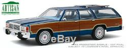 Greenlight 19063 118 Midnight Blue 1979 Ford Ltd Country Squire Presale