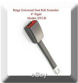 Grey Universal Seat Belt Extender 8 Rigid Extension Model EXT-R With Buckle