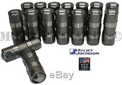 HYLIFT JOHNSON Hydraulic Roller Lifters Set/16 for Ford 302 5.0 351W USA-Made