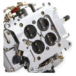 Holley 0-80457S Carburetor Street Warrior 600 CFM 4-Barrel Polished With Electri