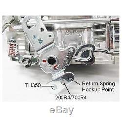 Holley 4160 600 CFM 4 Barrel Carburetor, Electric Choke